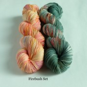 09 Firebush - Knitting Brioche Lace Set