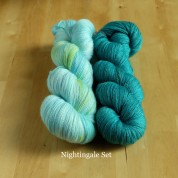 09 Nightingale - Knitting Brioche Lace Set