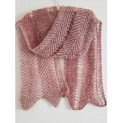 09 Red  Kite A - Knitting Brioche Lace Set