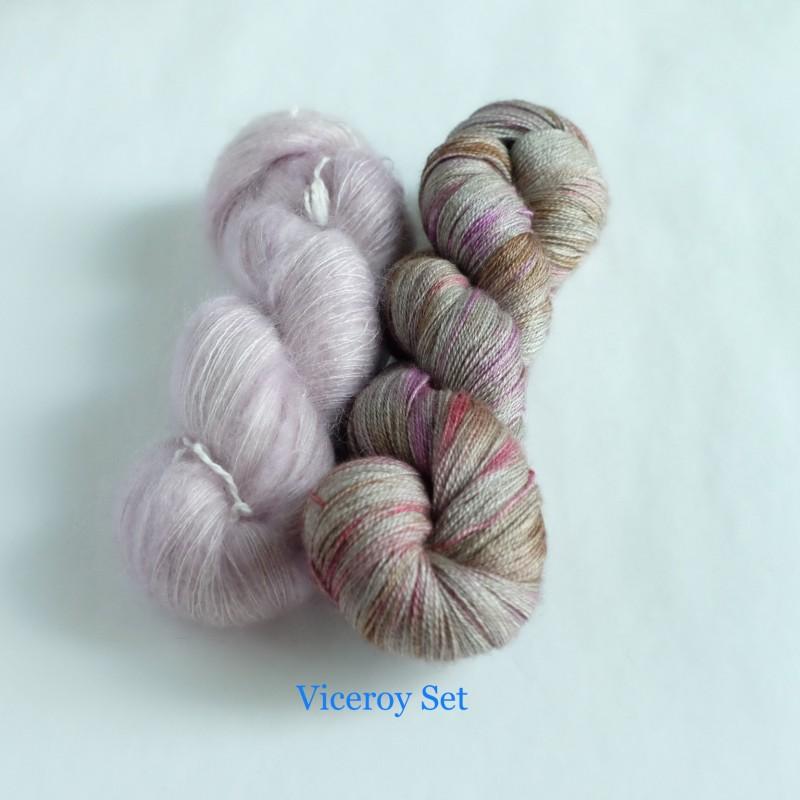 19 Viceroy - Knitting Brioche Lace Set