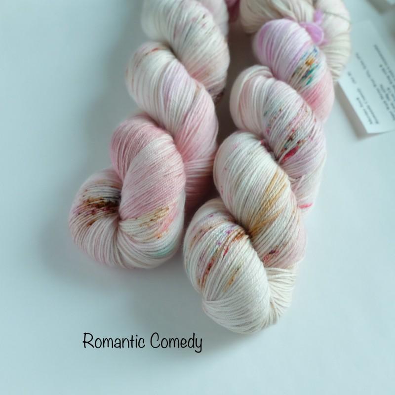 00 Romantic Comedy - Merino Sock (4 skeins set)