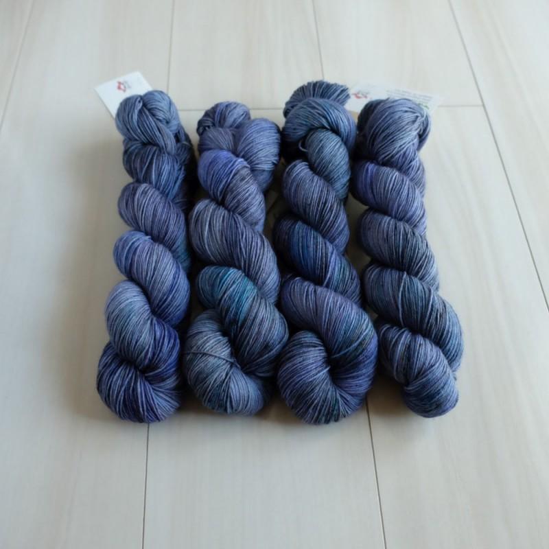 04 Grand Blue - Merino Sock