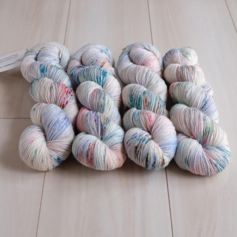 01 Sakura Rain - Merino Sock