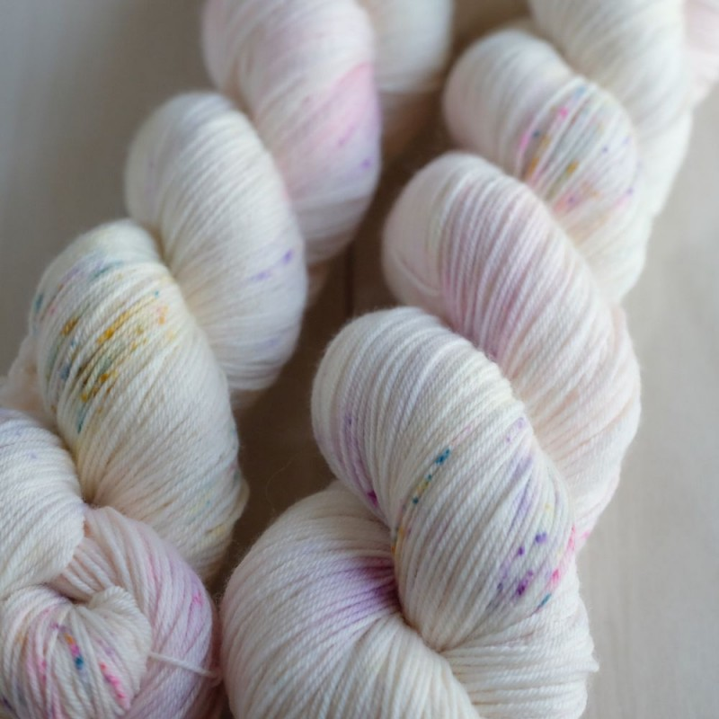 04 Spring Mist - Merino Sock (4 skeins set)