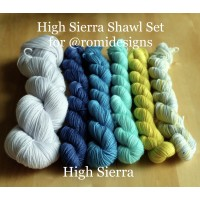 High Sierra Shawl Set
